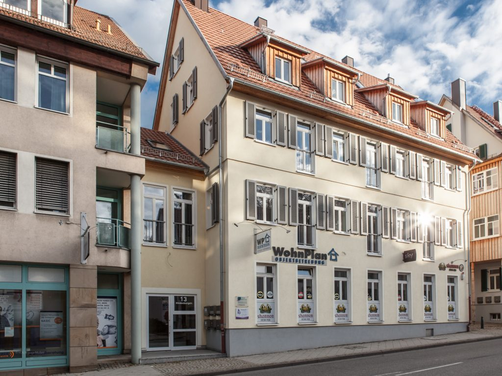 Wohnplan Objektbetreuung Herrenberg